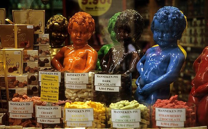 Brüssel Schokoladenspezialitäten