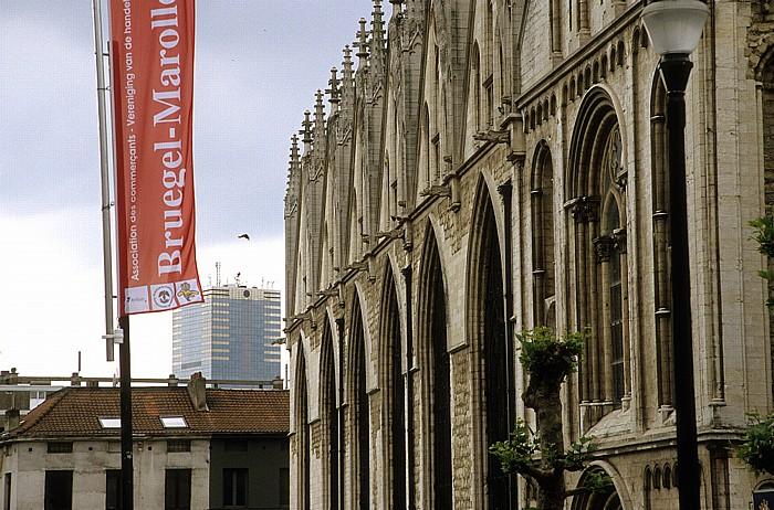 Brüssel Notre Dame de la Chapelle Tour du Midi
