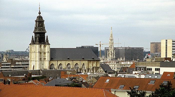 Brüssel Notre Dame de la Chapelle Rathaus