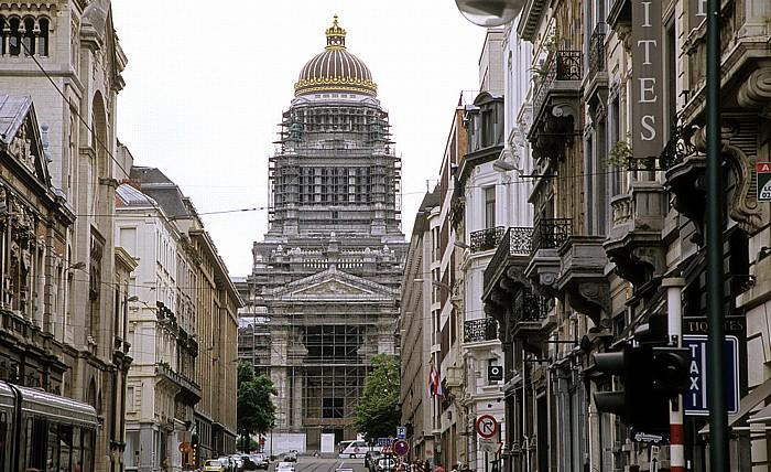 Brüssel Justizpalast (Justitiepaleis van Brussel / Palais de Justice de Bruxelles) Rue de la Régence