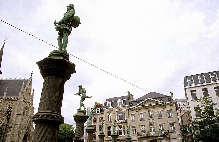 Brüssel Parc du Petit Sablon Notre-Dame du Sablon