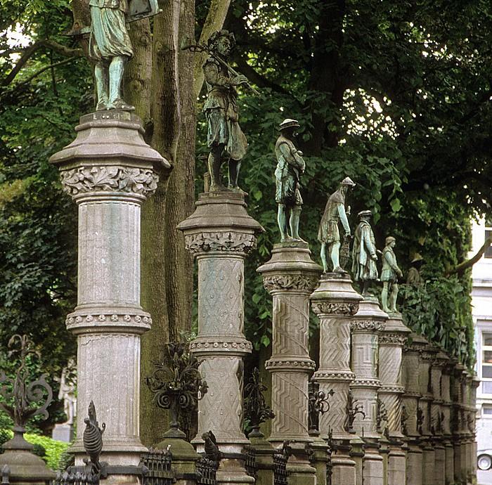 Brüssel Parc du Petit Sablon