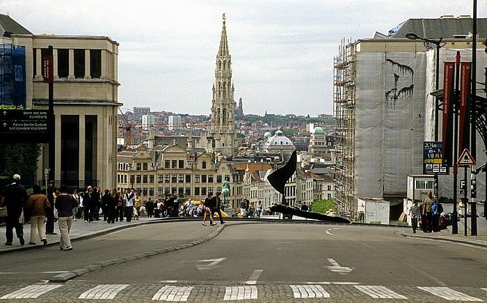 Brüssel Turm des Rathauses