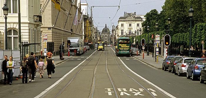 Brüssel Rue Royale (Koningsstraat) Église Royale Sainte-Marie Parc de Bruxelles