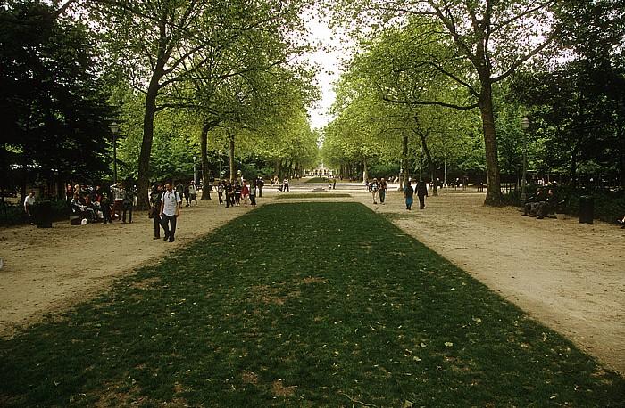 Brüssel Parc de Bruxelles (Warandepark)