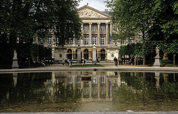 Brüssel Parc de Bruxelles (Warandepark), Palast der Nation (Belgische Abgeordnetenkammer)