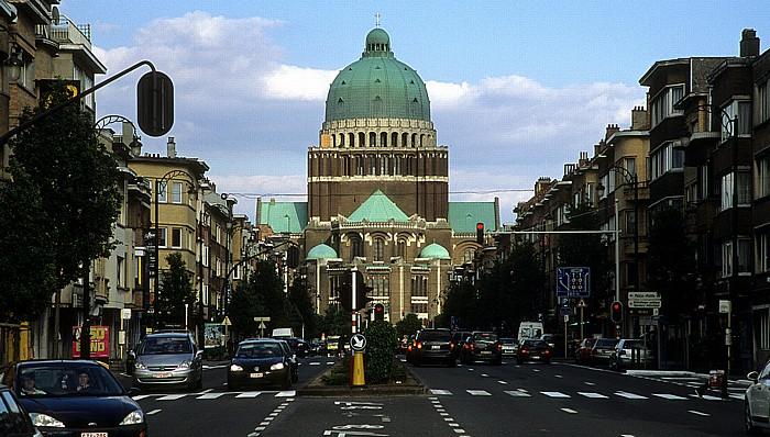 Brüssel Avenue Charles Quint Nationalbasilika des Heiligen Herzens