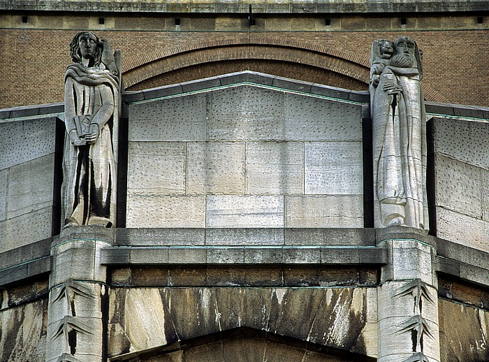 Brüssel Nationalbasilika des Heiligen Herzens (Nationalbasilika Herz-Jesu, Basilique Nationale du Sacré-Coeur)