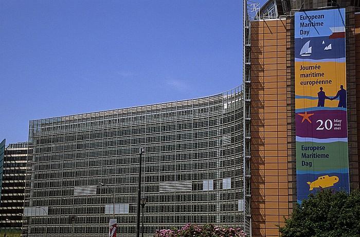 Brüssel Europaviertel: Berlaymont-Gebäude