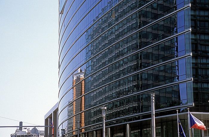 Brüssel Europaviertel: Lex-Gebäude Berlaymont-Gebäude