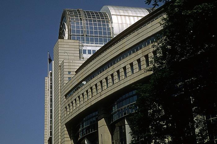 Brüssel Europaviertel: Espace Léopold: Paul-Henri-Spaak-Gebäude