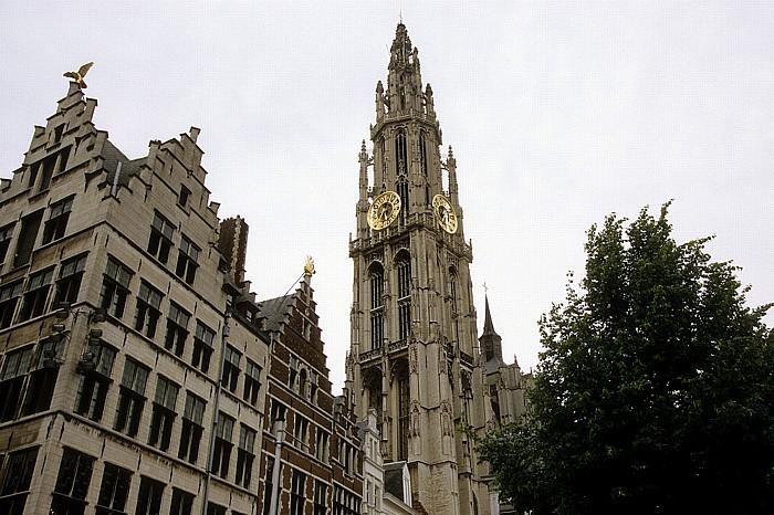 Antwerpen Marktplatz (Grote Markt), Liebfrauenkathedrale (Onze-Lieve-Vrouwekathedraal)