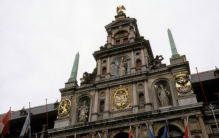 Antwerpen Marktplatz (Grote Markt): Rathaus (Stadhuis)