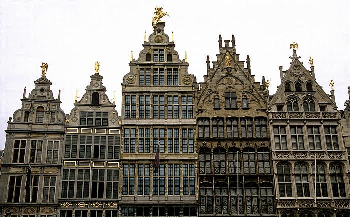 Antwerpen Marktplatz (Grote Markt): Zunfthäuser