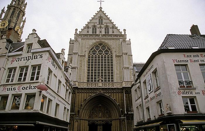 Antwerpen Groenplaats, Liebfrauenkathedrale (Onze-Lieve-Vrouwekathedraal)