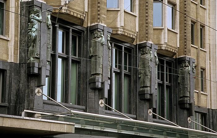 Antwerpen Boerentoren (Bauernturm) der KBC Group
