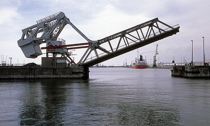 Antwerpen Hafen: Leopold Dock: Wilmarsdonkbrug