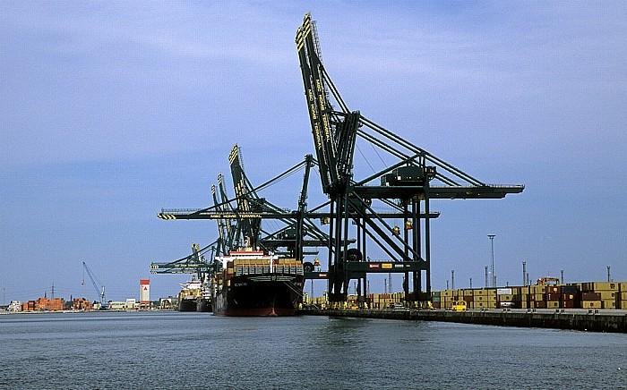 Antwerpen Hafen: Delwaide Dock