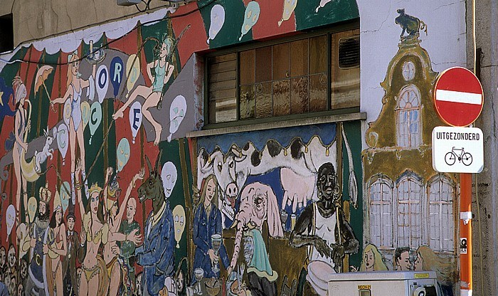 Mechelen Wandgemälde