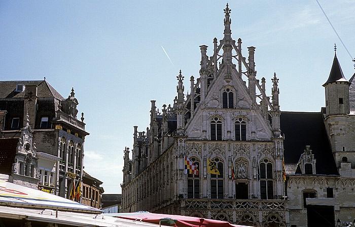 Mechelen Marktplatz (Grote Markt): Rathaus (Stadhuis)
