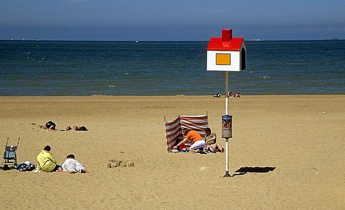 Ostende Strand, Nordsee