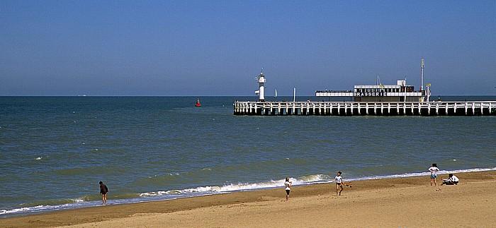 Ostende Strand, Mole, Nordsee