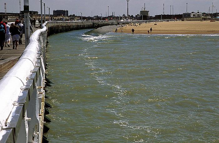 Ostende Mole, Nordsee, Strand