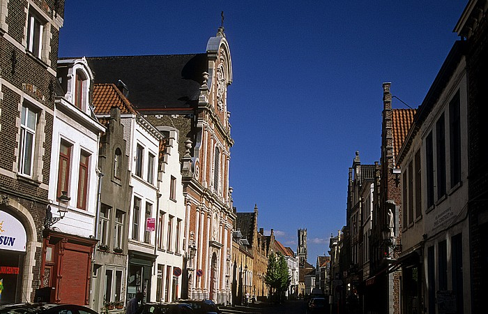 Brügge Ezelstraat Belfried