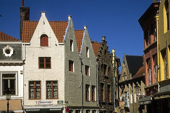 Brügge Ecke Simon Stevinplein / Oude Burg
