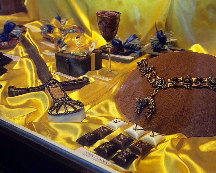Brügge Simon Stevinplein: Schokoladespezialitäten