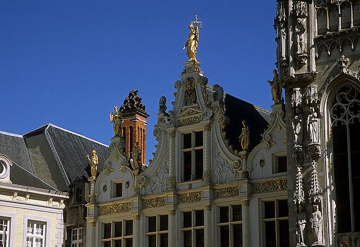 Burgplein: Ehemaliges Landhaus des Brügger Freiamtes (Brugse Vrije)
