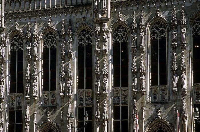 Brügge Burgplein: Rathaus (Stadthuis)