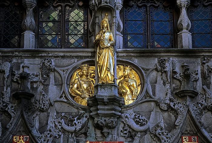 Brügge Burgplein: Heilig-Blut-Basilika (Heilig-Bloedbasiliek)