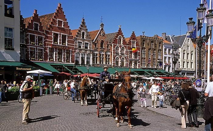 Brügge Marktplatz (Grote Markt): Nordseite