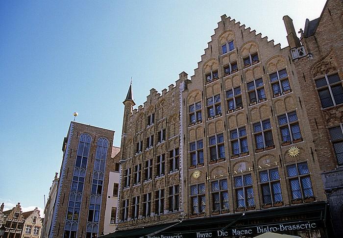 Brügge Marktplatz (Grote Markt): Westseite
