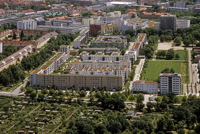 München Blick vom Olympiaturm
