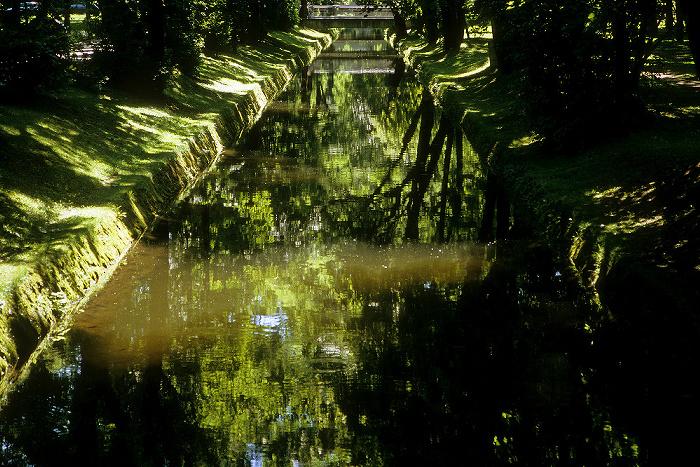 München Olympiapark: Nymphenburg-Biedersteiner Kanal