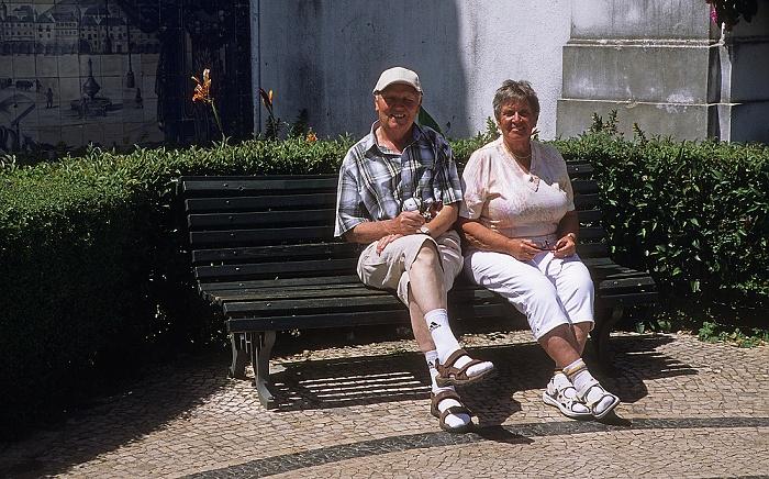 Alfama: Largo Santa Luzia Lissabon 2009