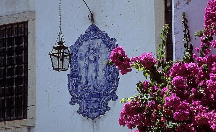 Alfama: Largo Santa Luzia - Azulejo Lissabon 2009