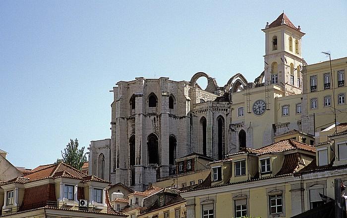 Bairro Alto: Igreja do Carmo Lissabon 2009
