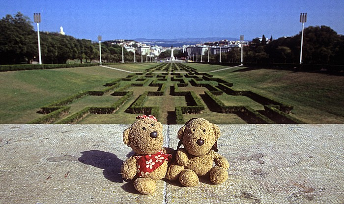 Parque Eduardo VII: Teddine und Teddy Lissabon 2009