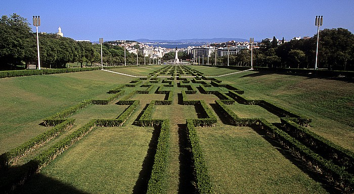 Lissabon Parque Eduardo VII