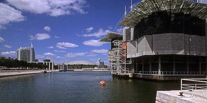 Lissabon Parque das Nações: Oceanário de Lisboa Pavilhão Atlantico Torre Vasco da Gama