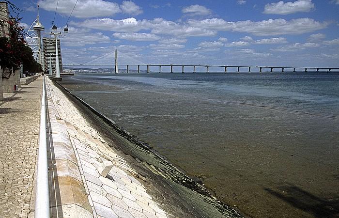 Parque das Nações, Tejo, Ponte Vasco da Gama Lissabon 2009