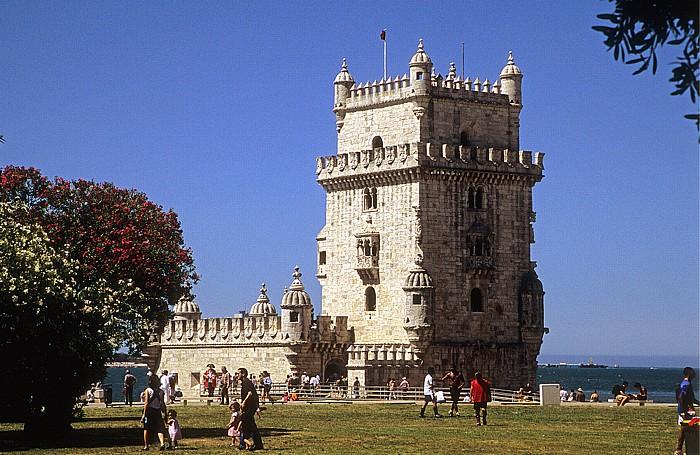 Belém: Torre de Belém Lissabon 2009