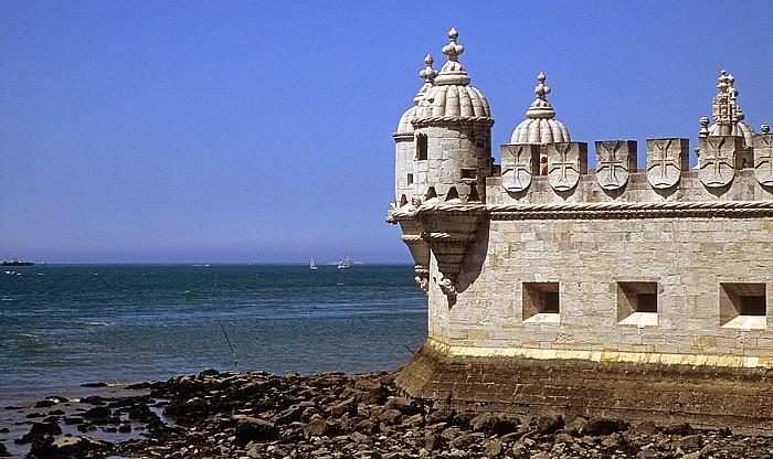 Lissabon Belém: Tejomündung, Torre de Belém