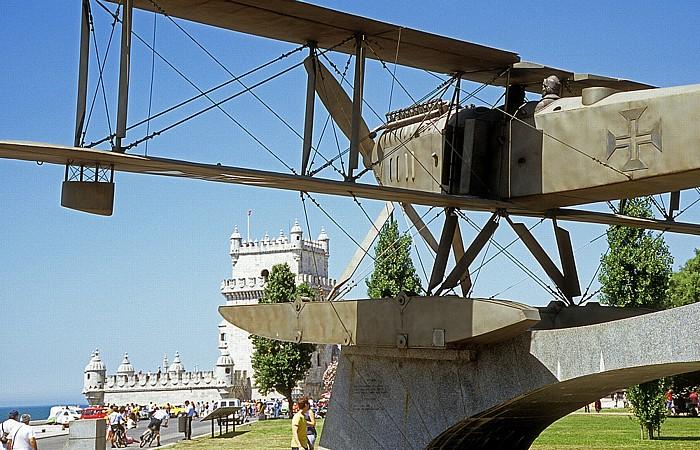 Lissabon Belém: Monumento a Gago Coutinho e Sacadura Cabral Torre de Belém