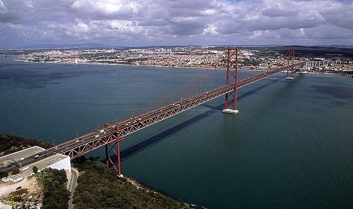 Rund um die Ponte 25 de Abril Lissabon