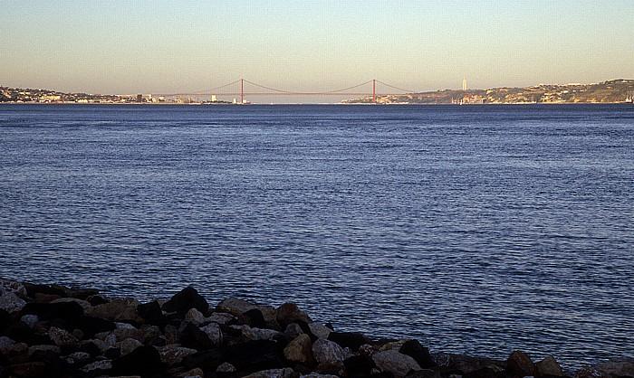 Oeiras Costa de Lisboa: Mündung des Tejo in den Atlantik