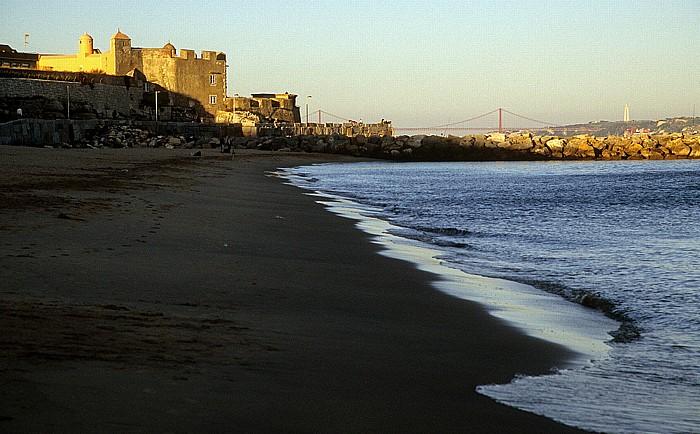 Oeiras Costa de Lisboa: Praia de Santo Amaro